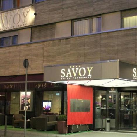 Savoy Hotel Front